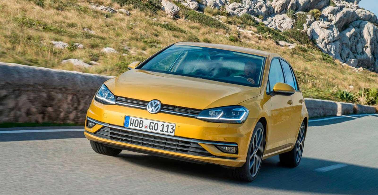Volkswagen Golf 10 coches más vendidos de 2017