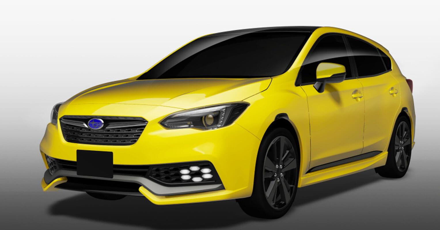 Subaru Impreza Future Sport Concept en el Salón de Tokio