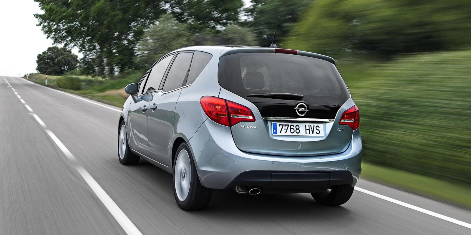 Opel Meriva monovolumenes