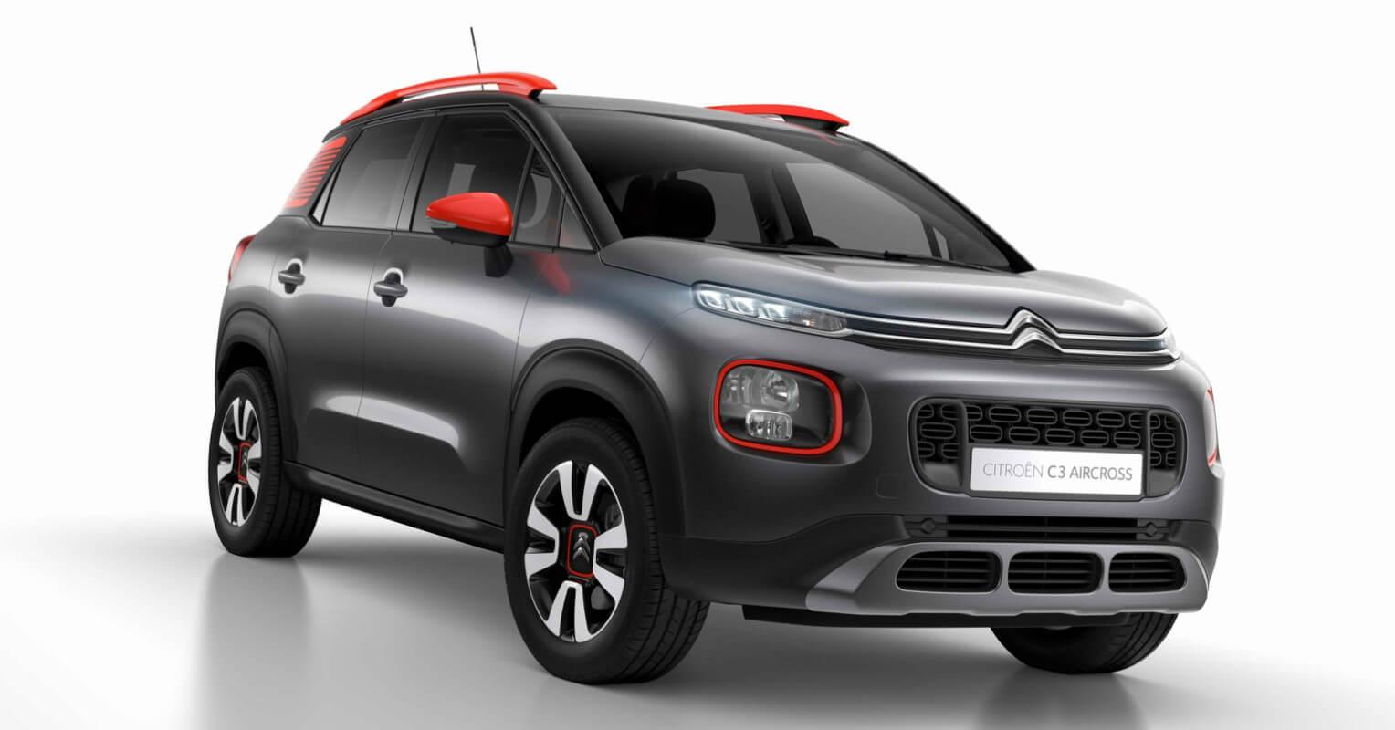 Citroën C3 Aircross finalista coche del año en Europa 2018