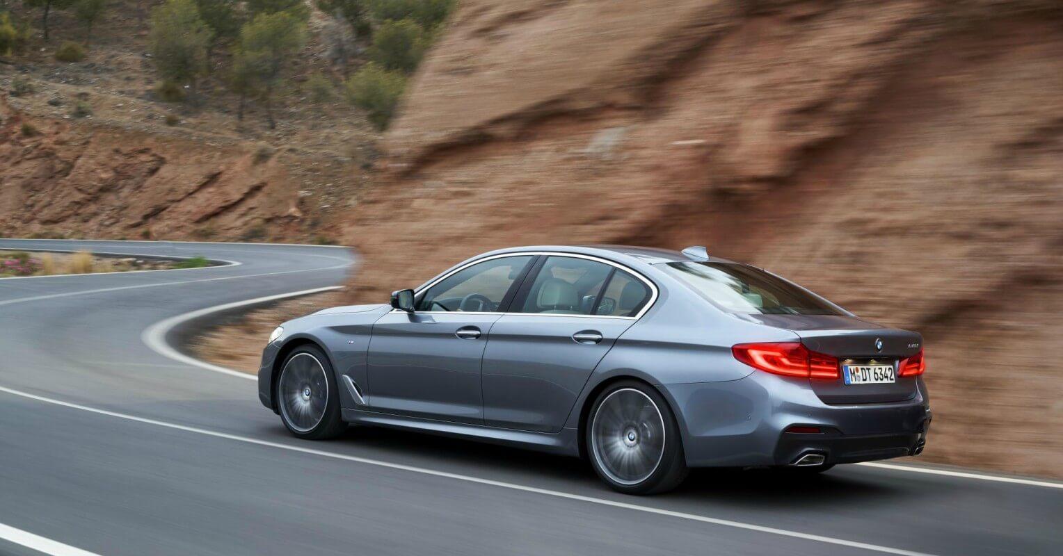 BMW Serie 5 finalista coche del año en Europa 2018
