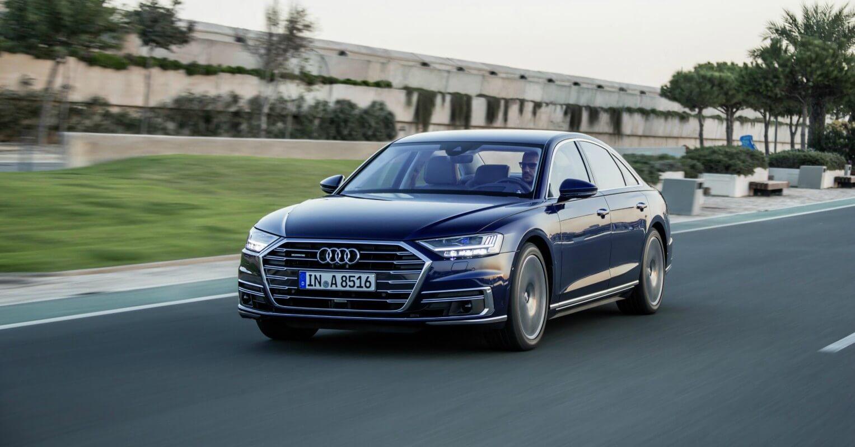 Audi A8 finalista coche del año en Europa 2018
