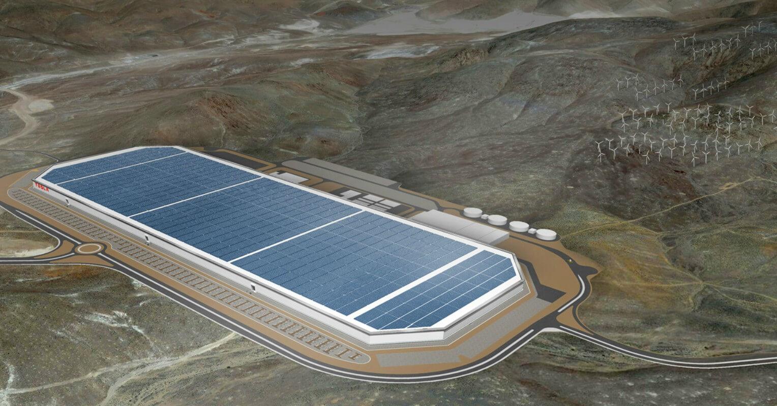 Tesla gigafactoria