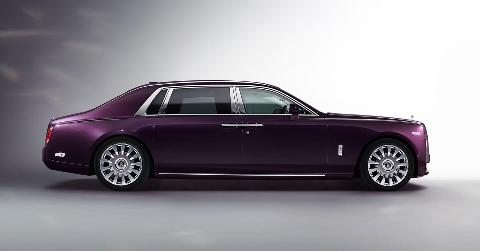 los coches más largos Roll Royce Phantom Extended Wheel Base