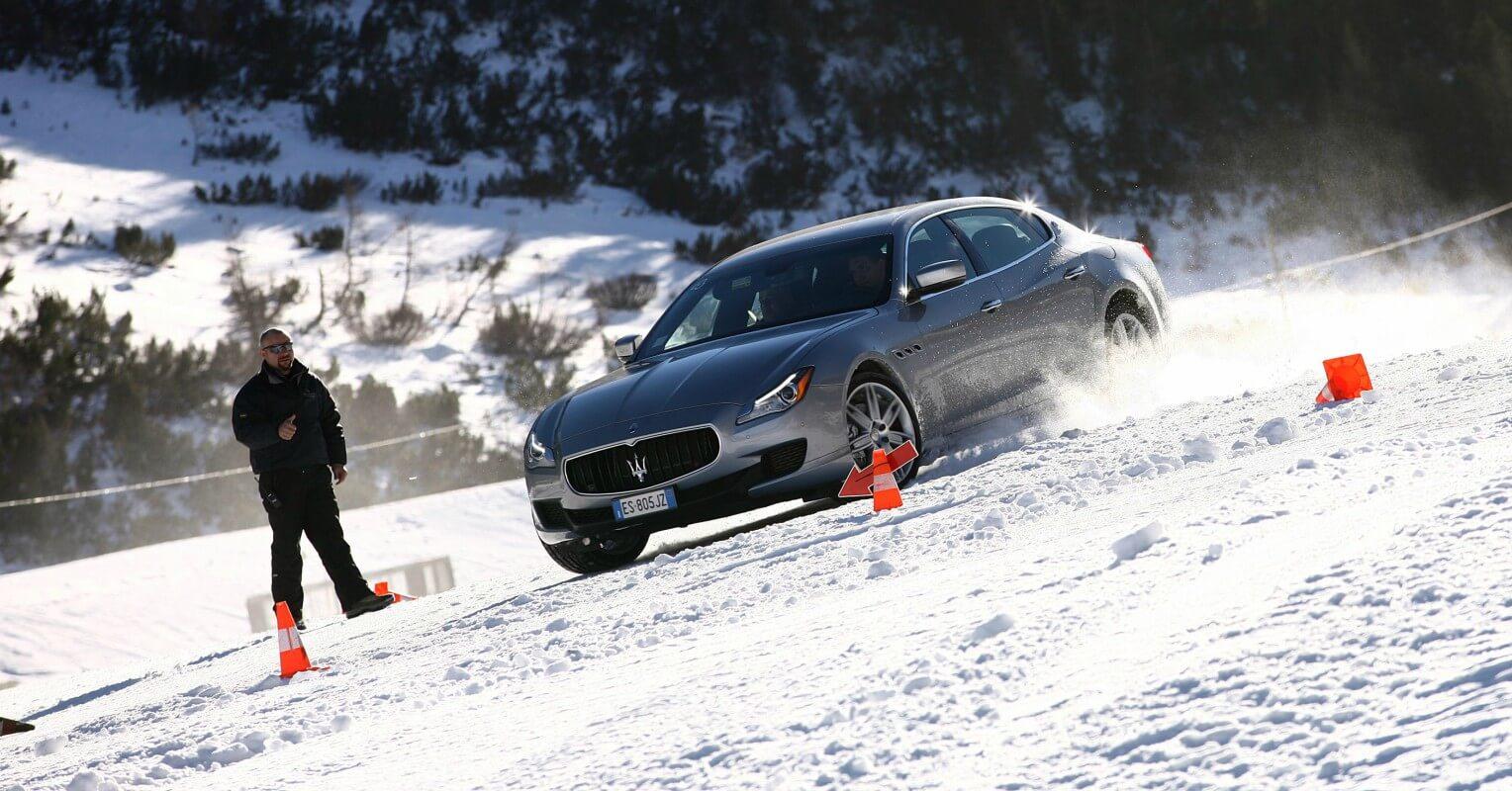 Consejos para conducir sobre nieve