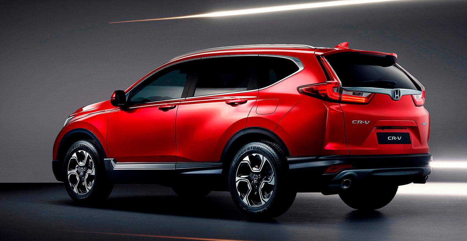 Honda CR-V 2018 trasera