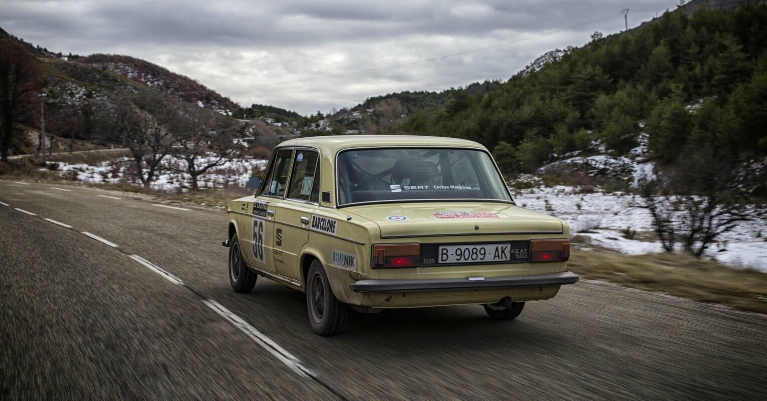 SEAT Rallye Monte-Carlo Histórico