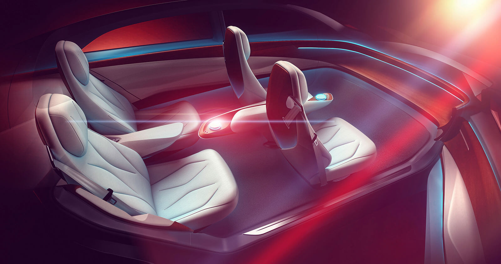 Volkswagen I.D. Vizzion Concept interior