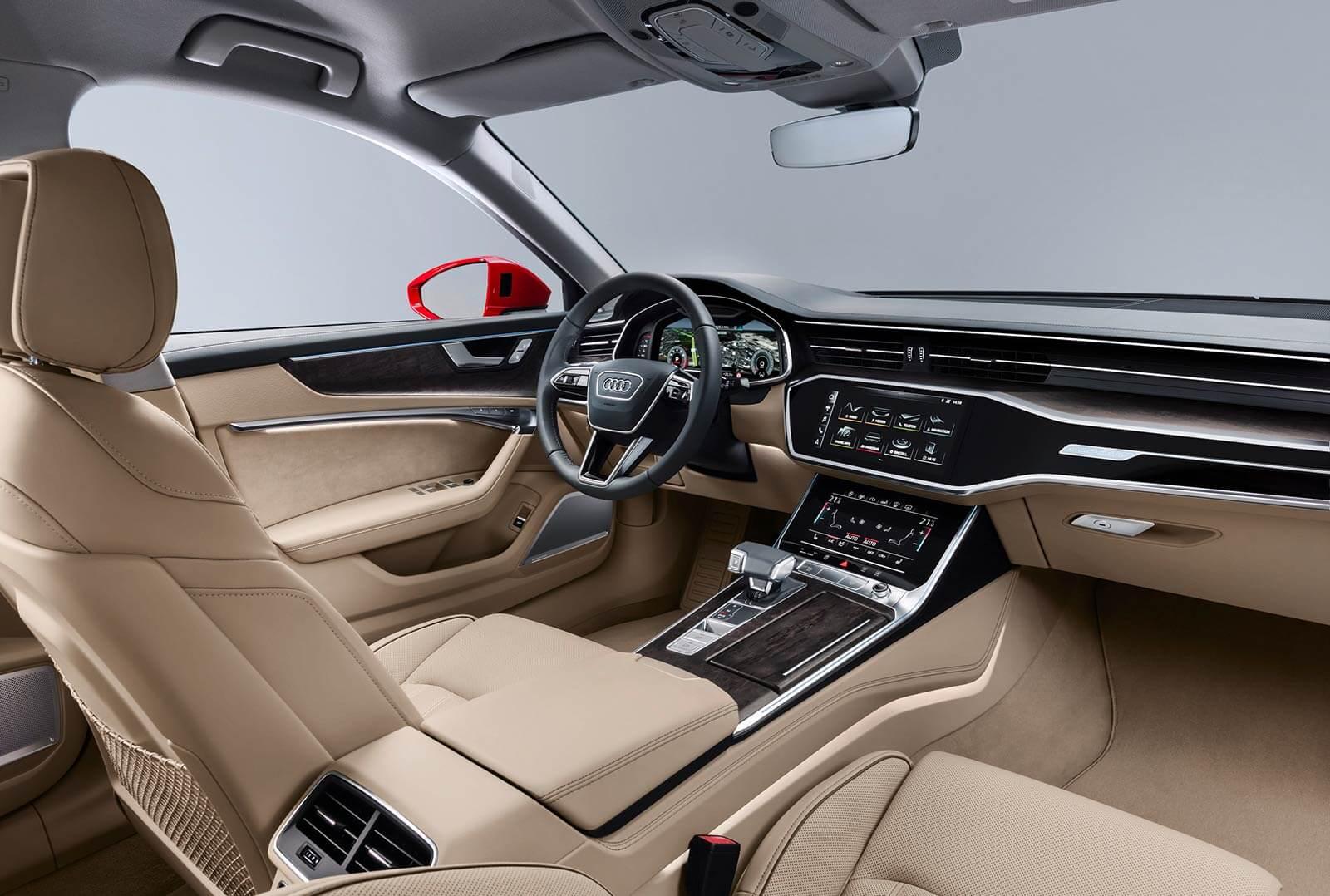 Audi A6 2018 interior
