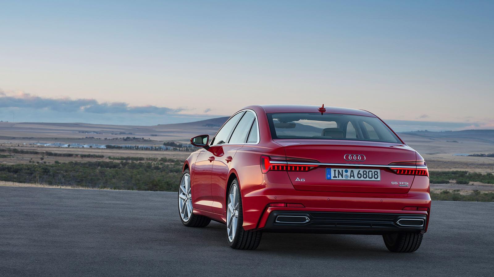 Audi A6 2018 tecnologia