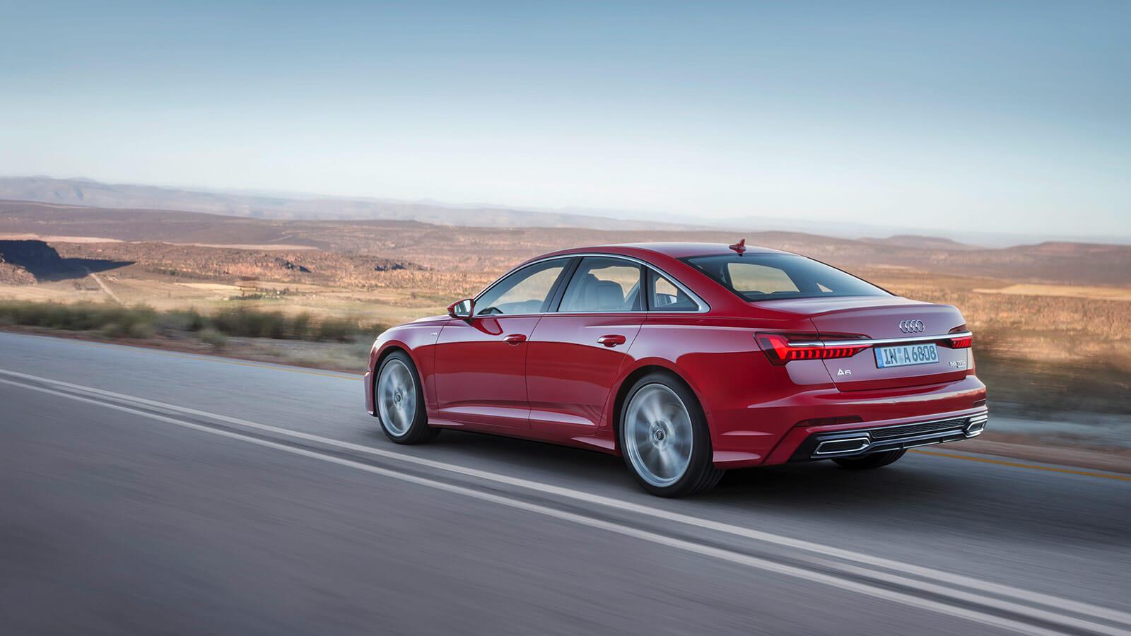 Audi A6 2018 trasera