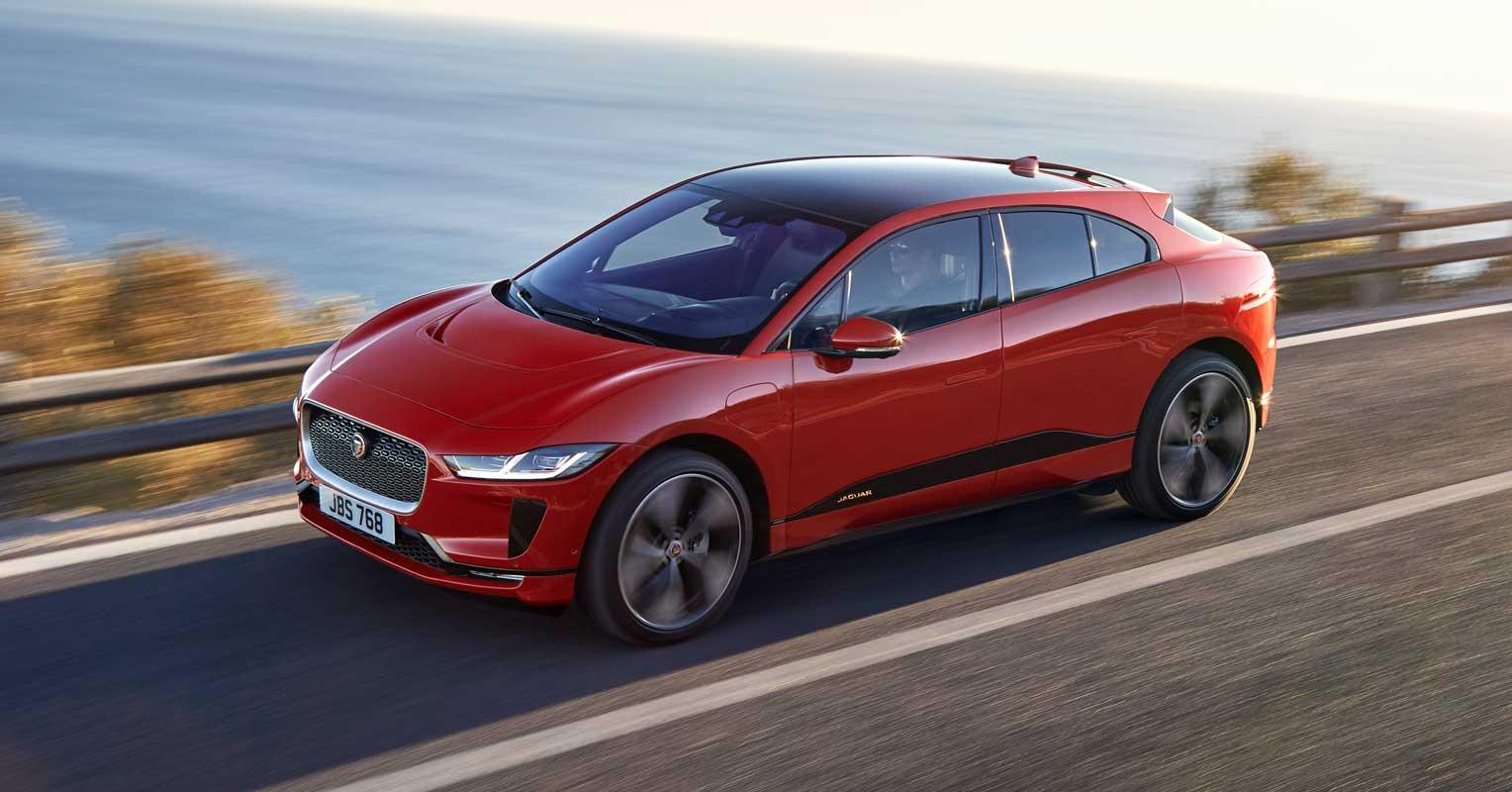 Jaguar I-Pace Frontal