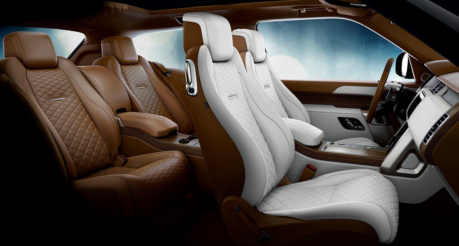 Range Rover SV Coupe interior