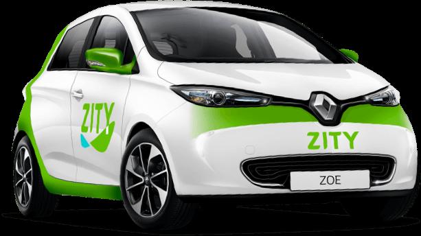 Car Sharing Zity