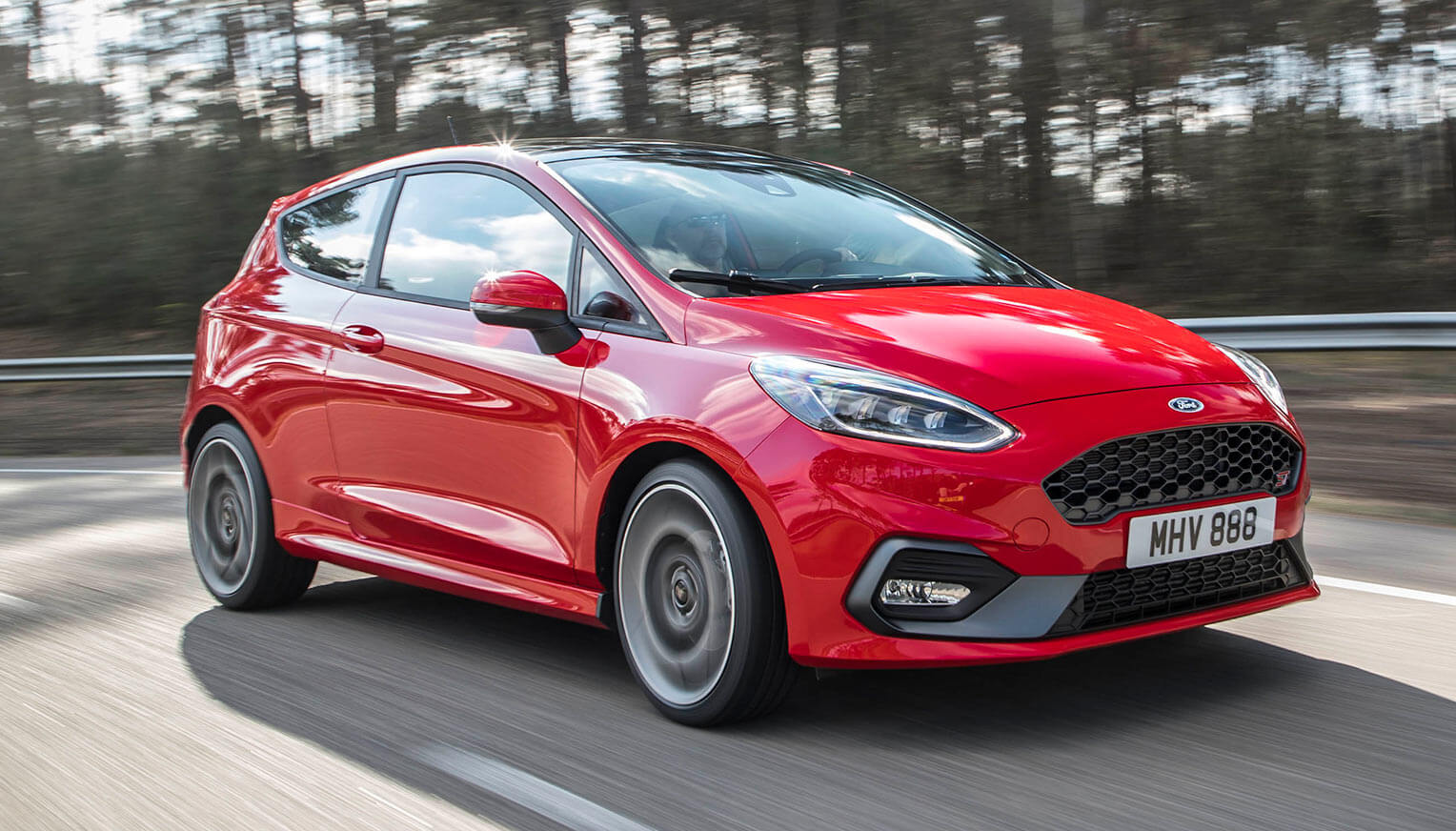 Ford Fiesta ST 2018 frontal