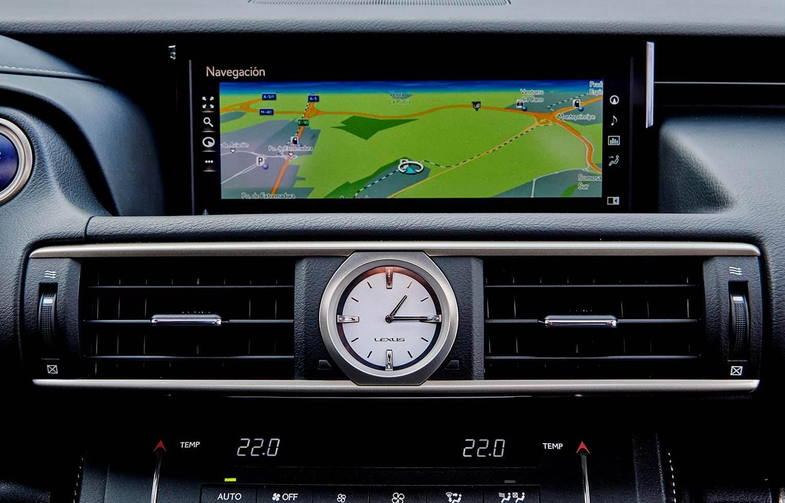 Lexus RC 300h 2018 interior