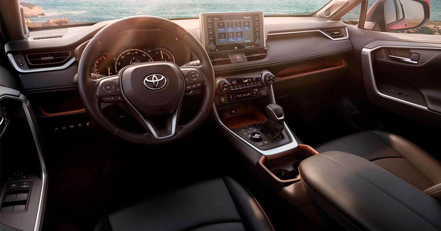 Toyota RAV4 2019 interior