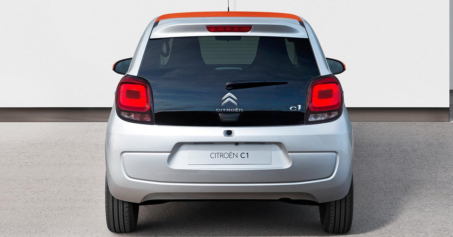 Citroën C1 2018 trasera