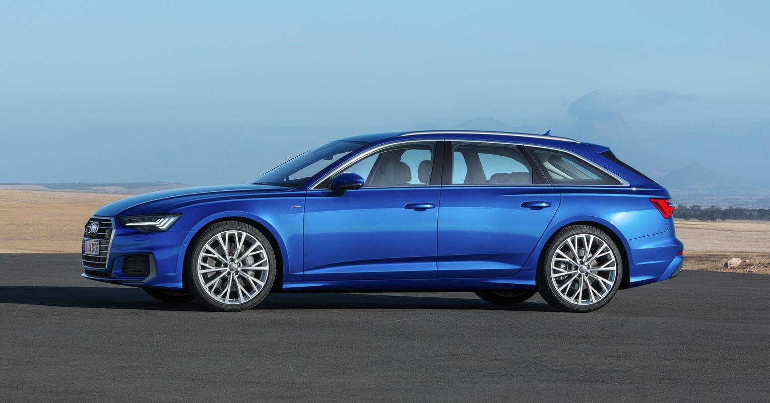 Audi A6 Avant 2018 familiar