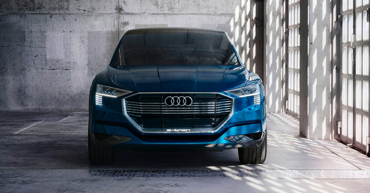 Audi e-tron quattro frontal