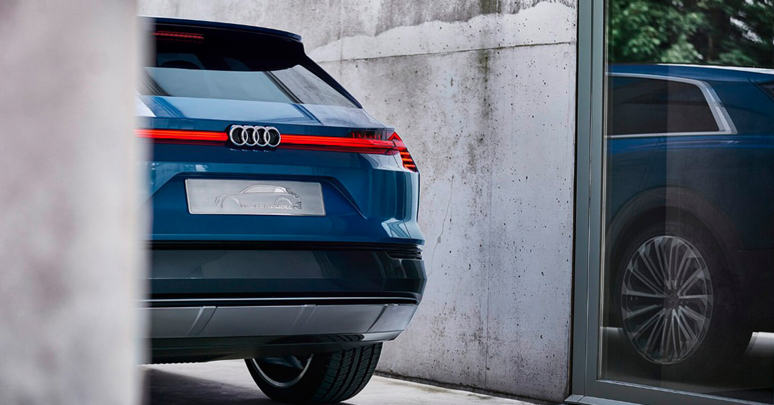 Audi e-tron quattro trasera