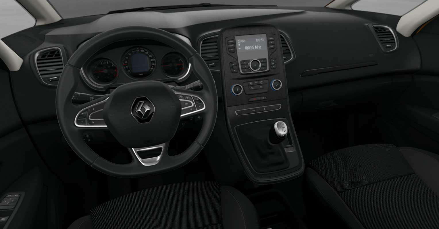 interior renault scénic limited