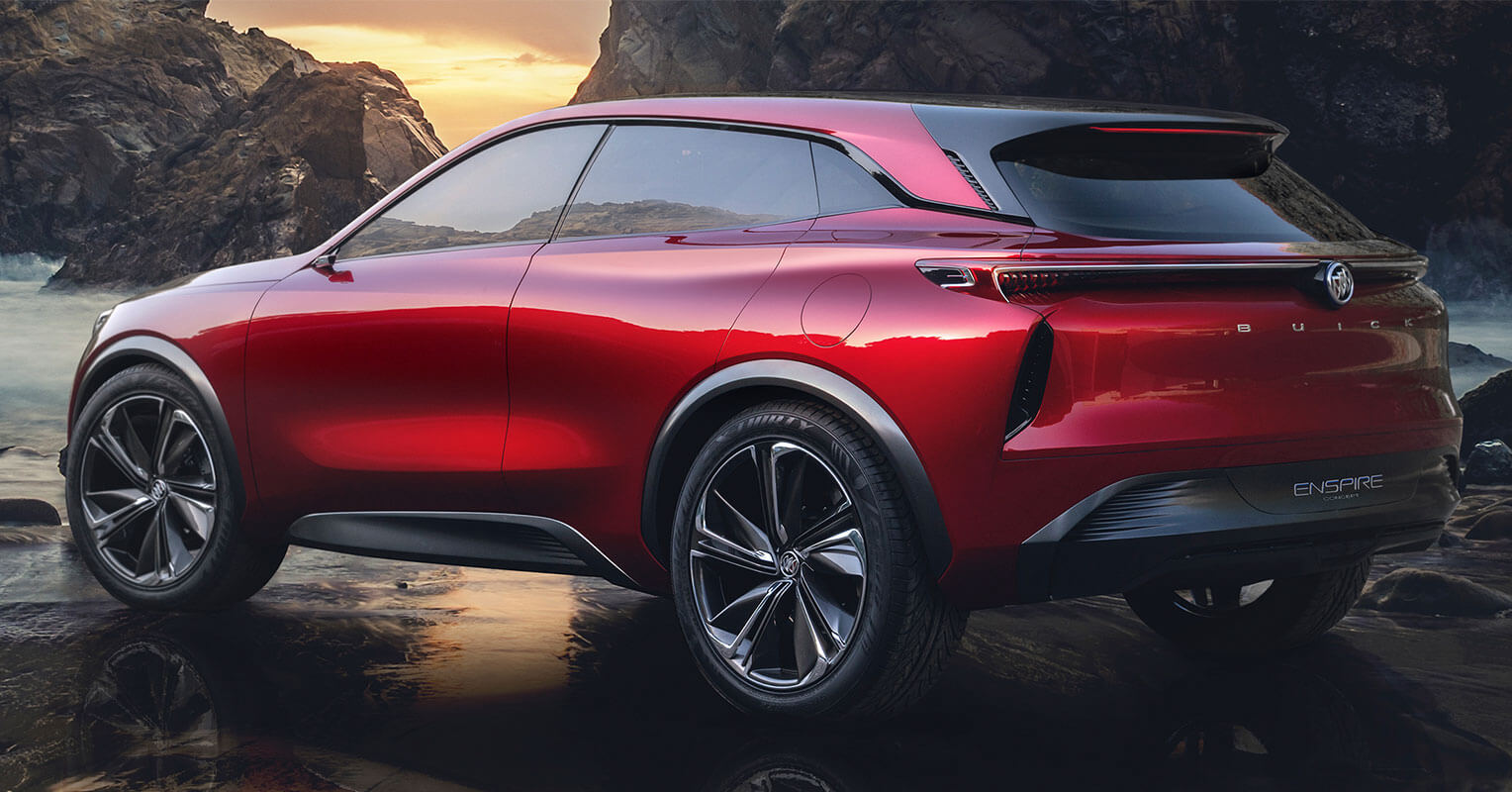 Buick Enspire concept trasera