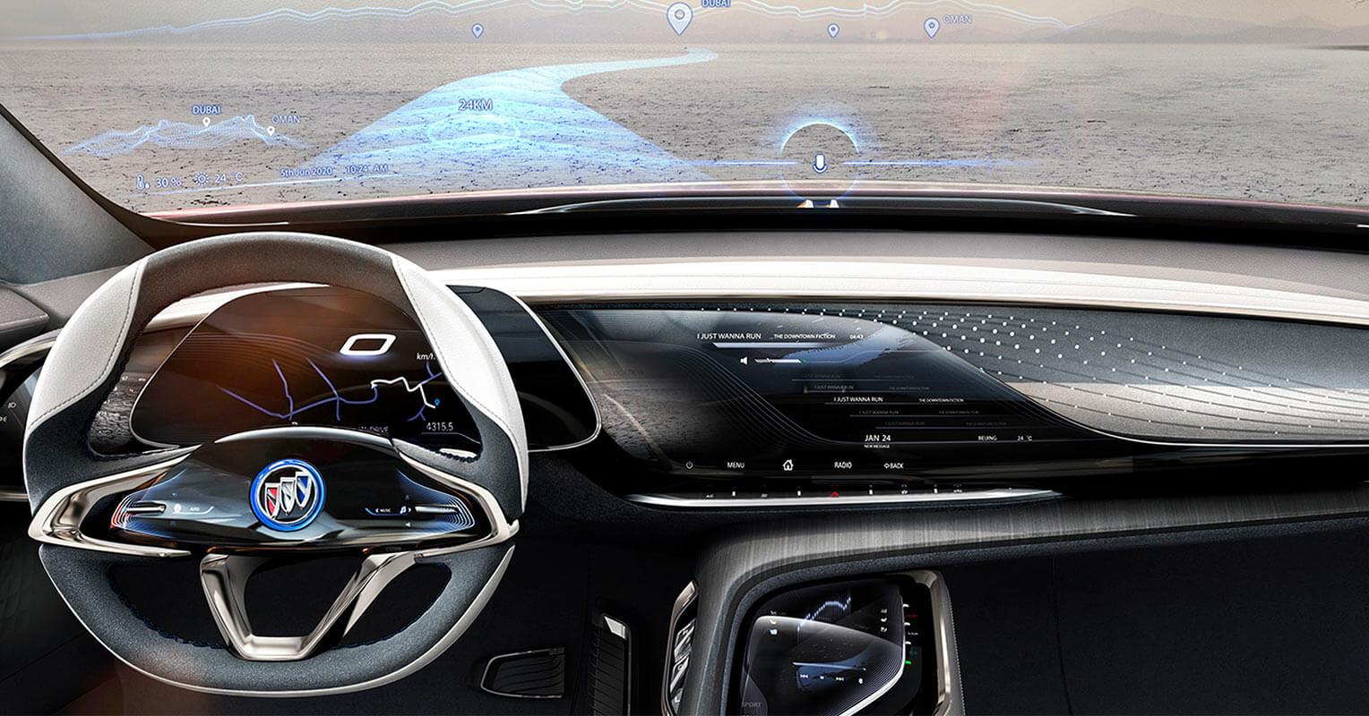Buick Enspire concept interior