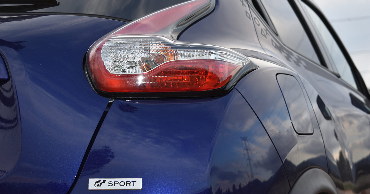 Faro trasero del Nissan Juke
