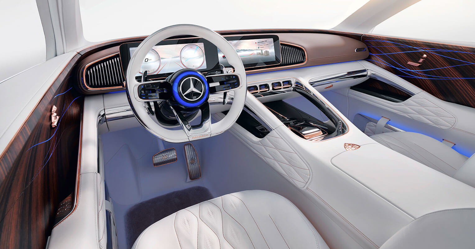 Mercedes-Maybach Ultimate Luxury interior