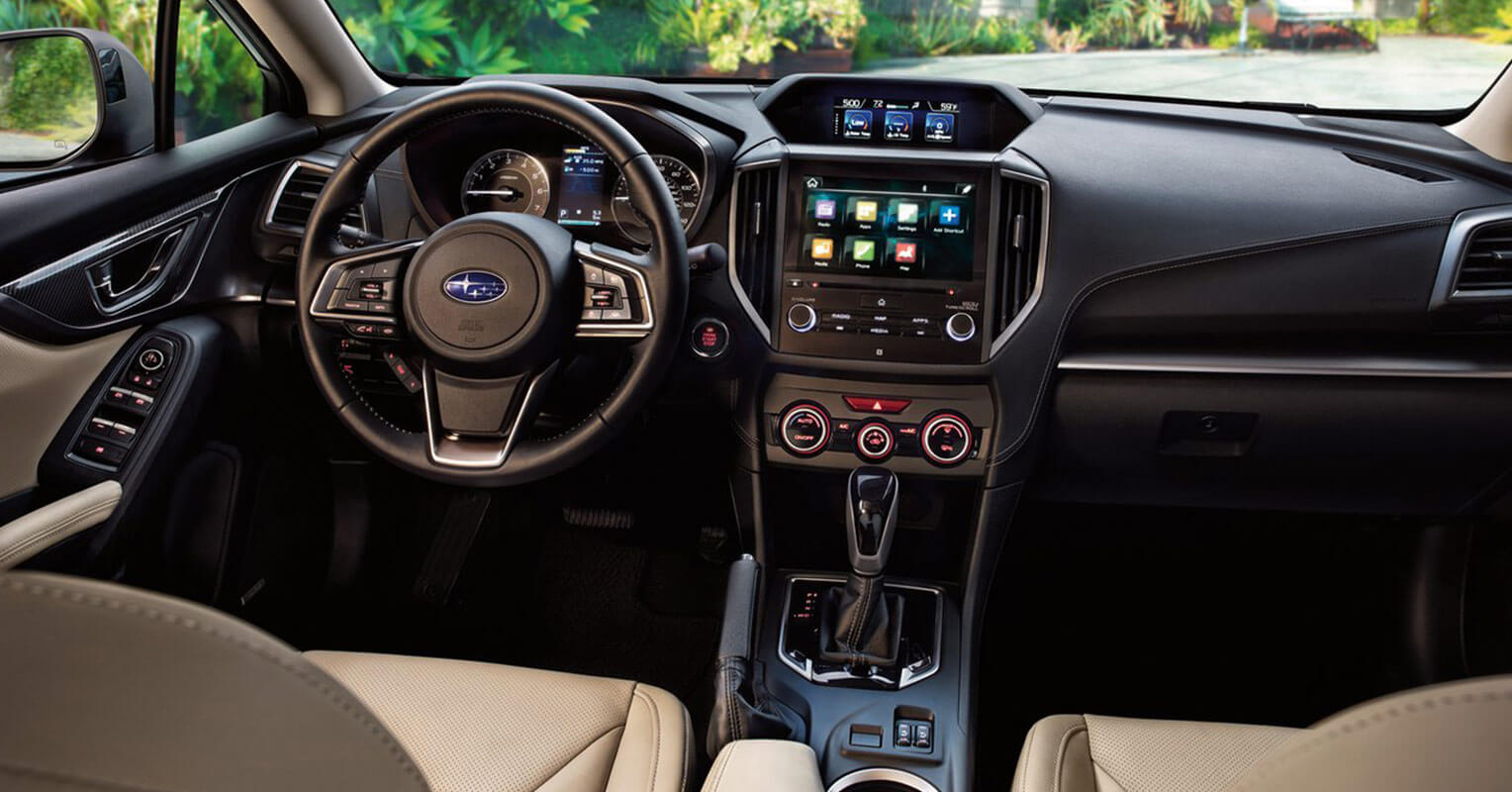 Interior del Subaru Impreza 2018