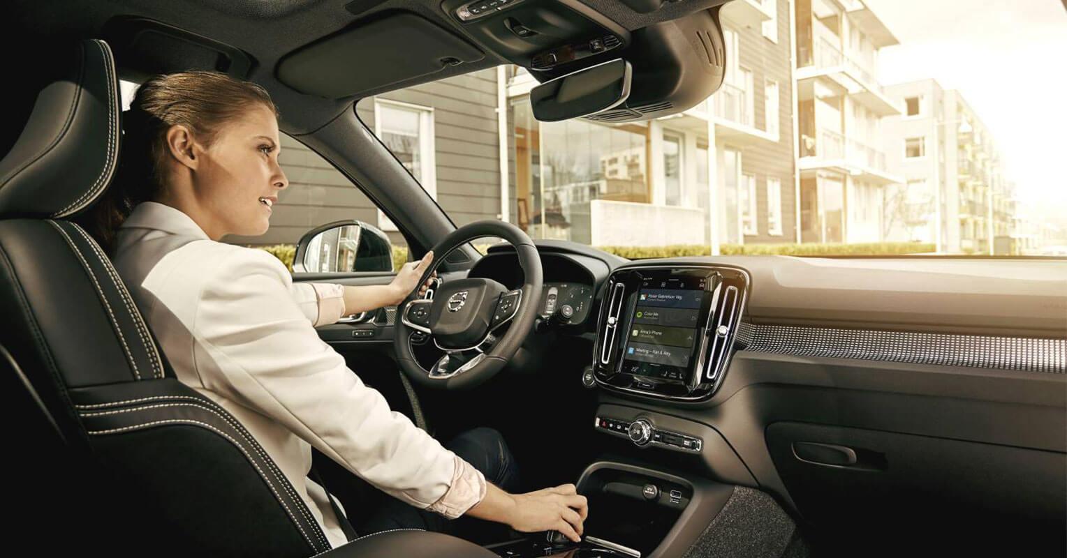 Interior de Volvo de 2018