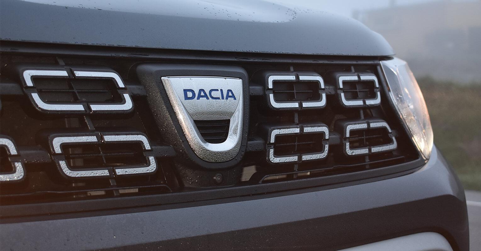 Parrilla del Dacia Duster