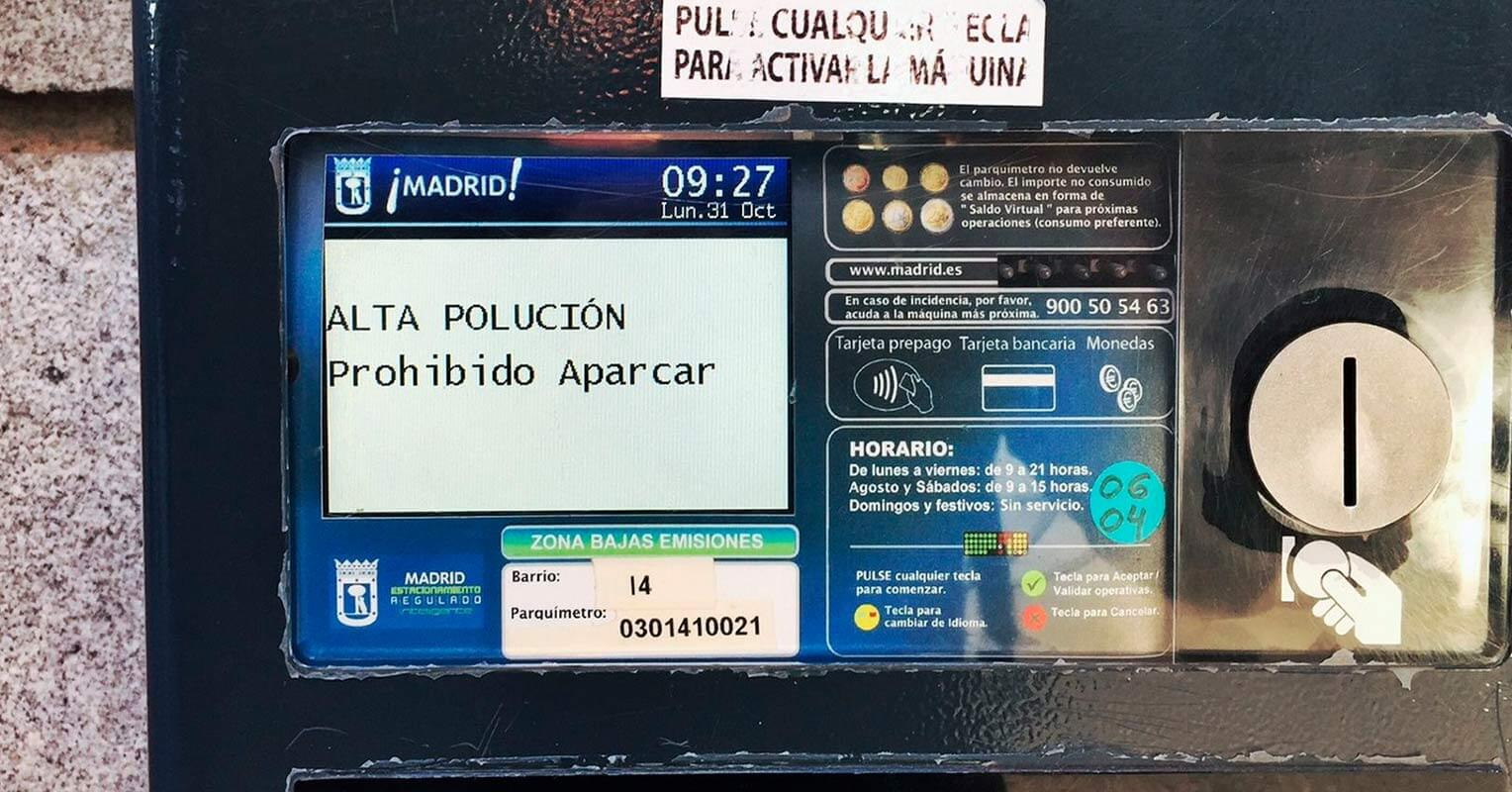 Madrid aparcamiento