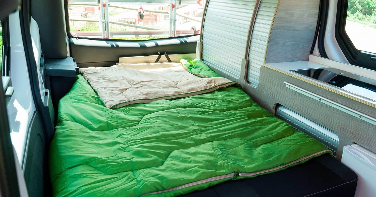 Camper cama