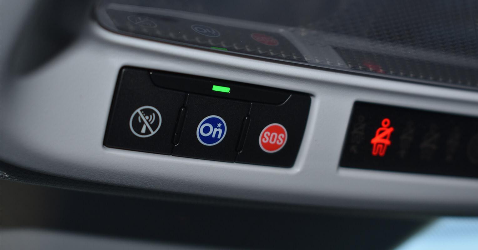 Botón OnStar y SOS del Opel Grandland X