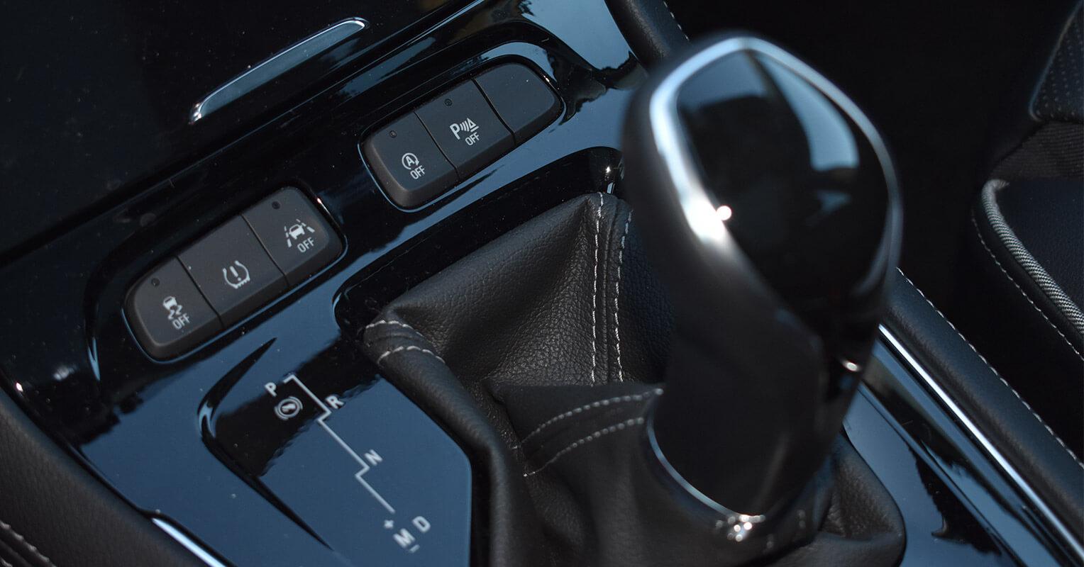 Cambio de marchas del Opel Grandland X
