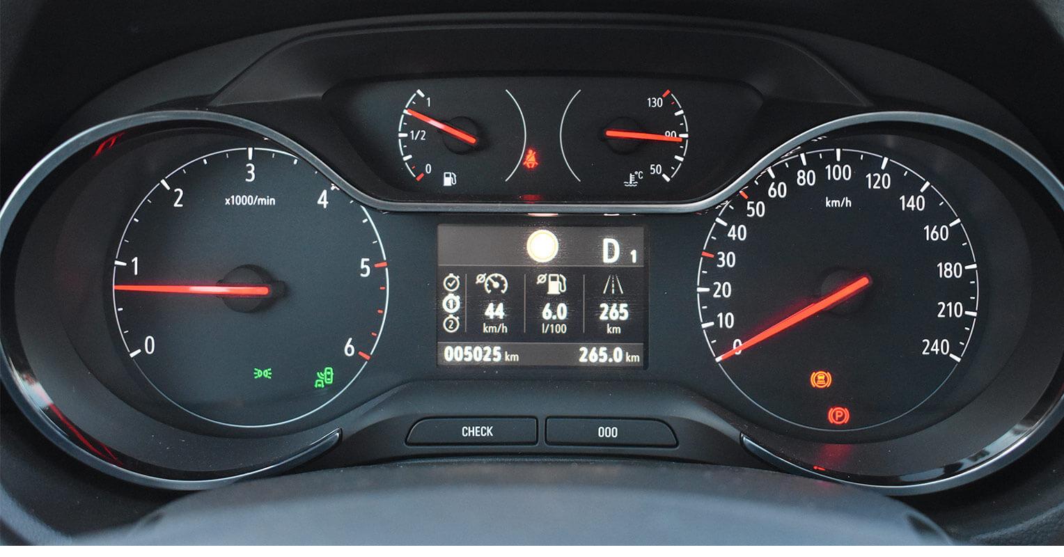 Cuadro de instrumentación del Opel Grandland X
