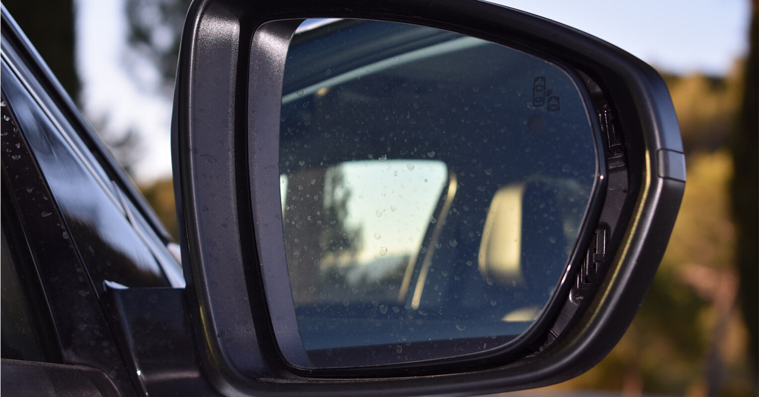 Espejo retrovisor del Opel Grandland X