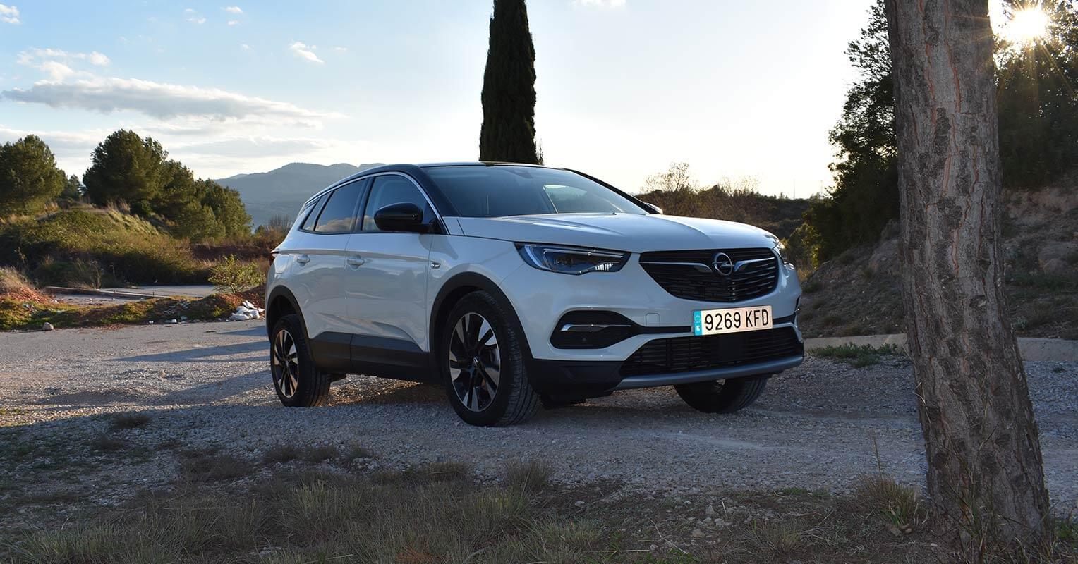 Frontal del Opel Grandland X