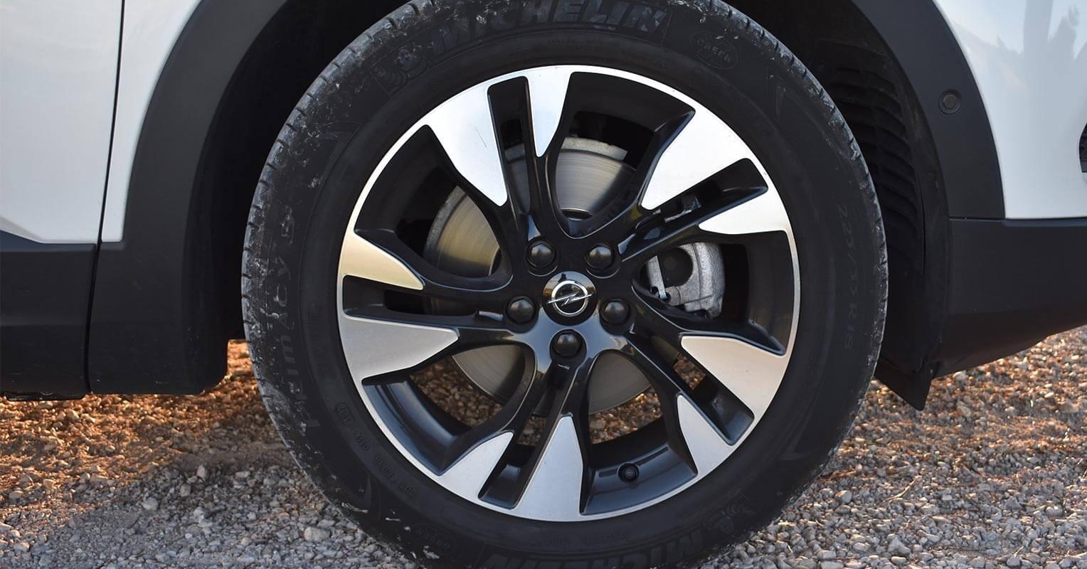 Llantas del Opel Grandland X