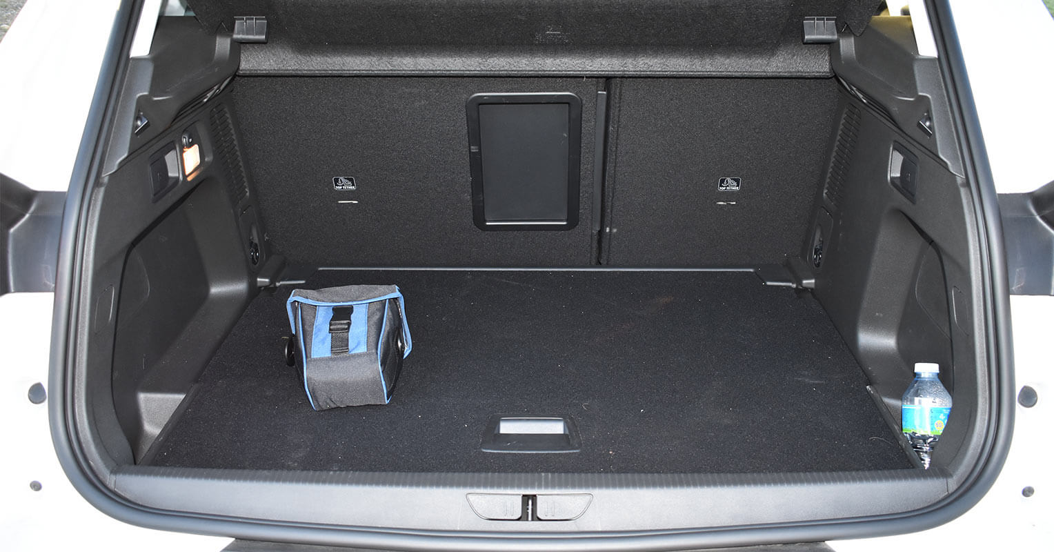 Maletero del Opel Grandland X