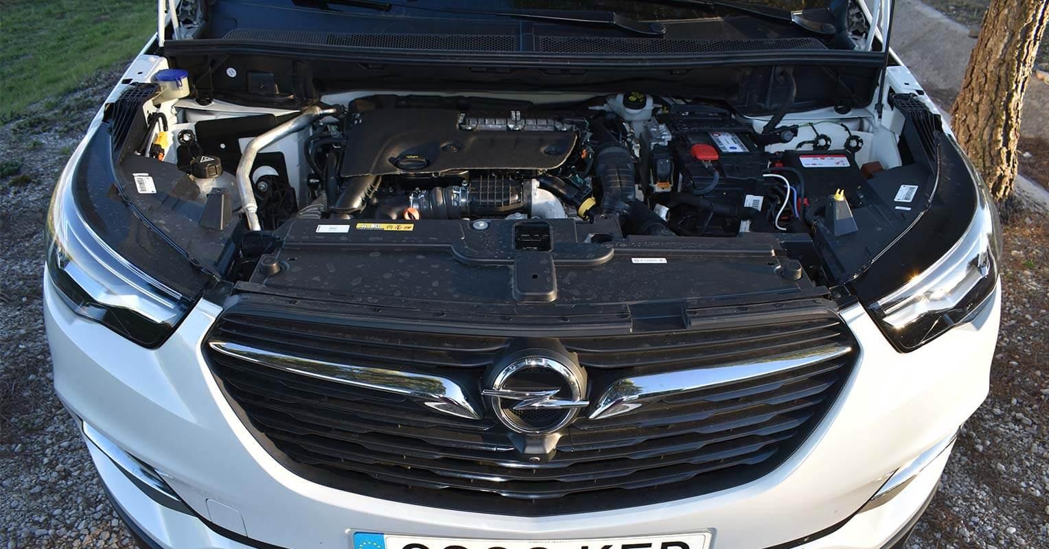 Motor del Opel Grandland X