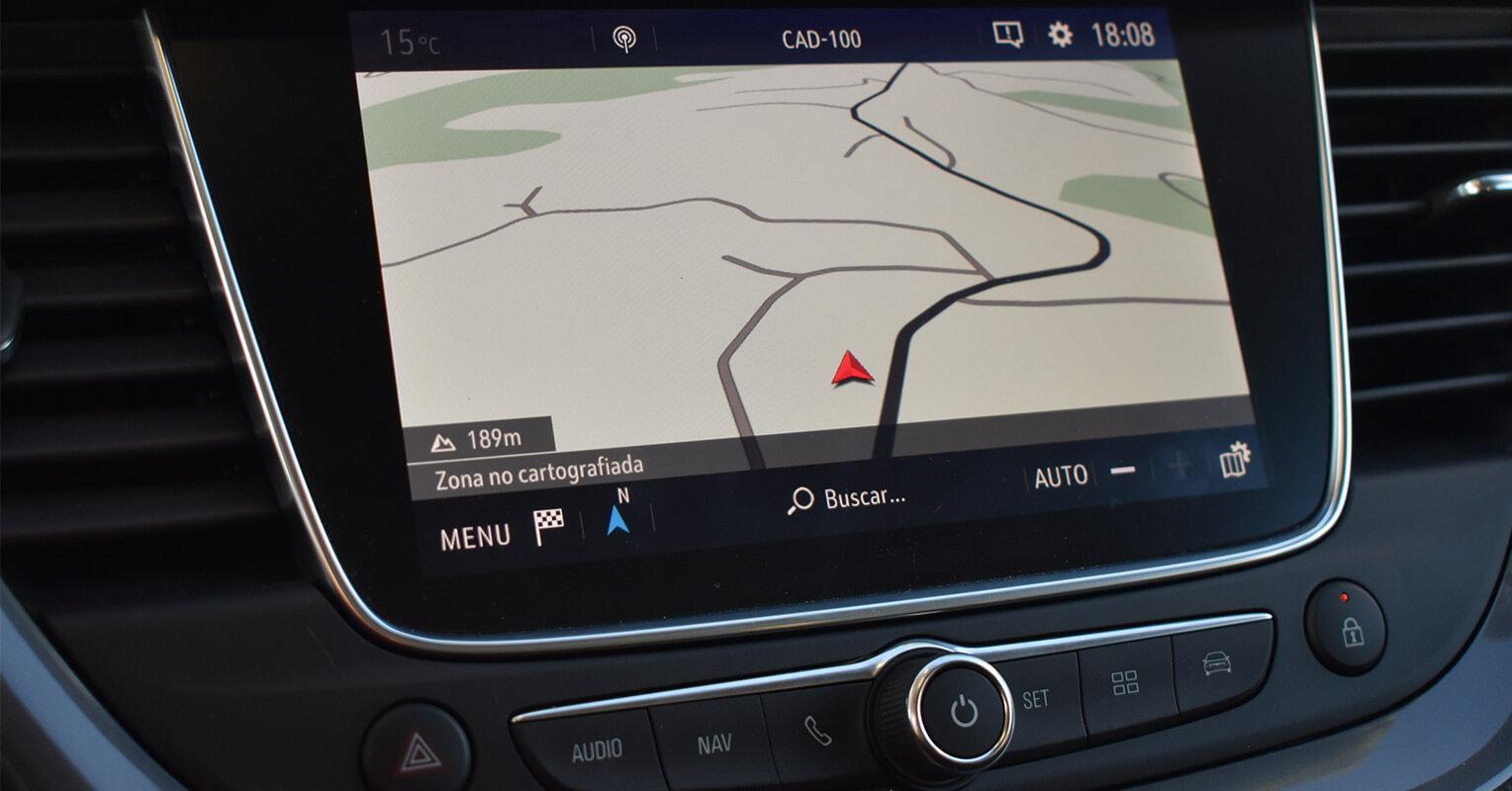 Pantalla multimedia del Opel Grandland X