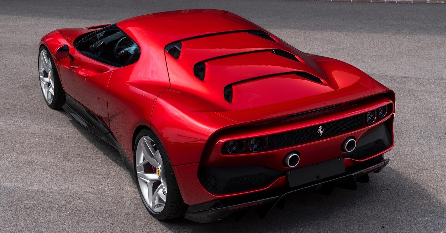 Ferrari SP38 trasera