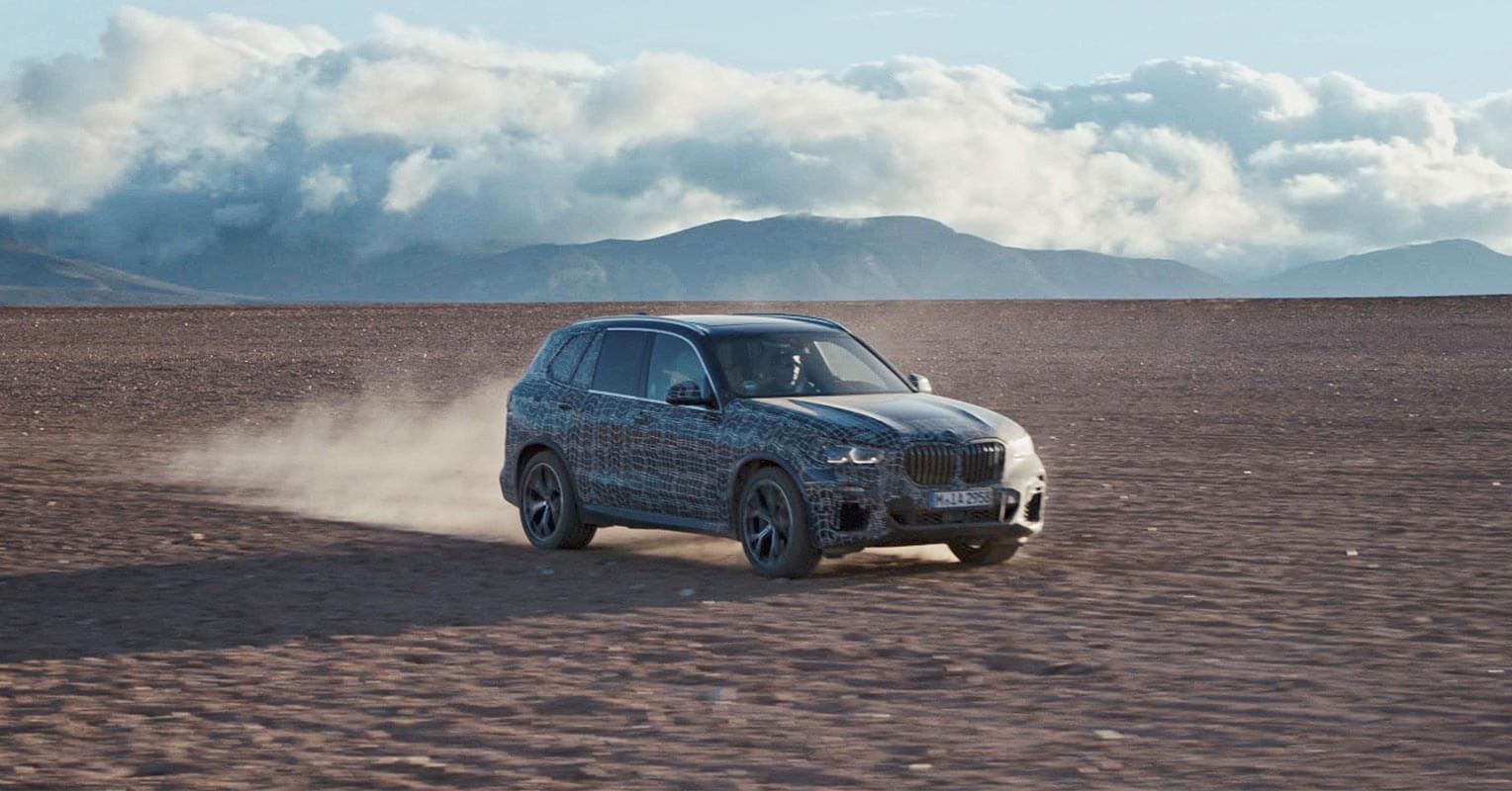 Pruebas BMW X5 2019