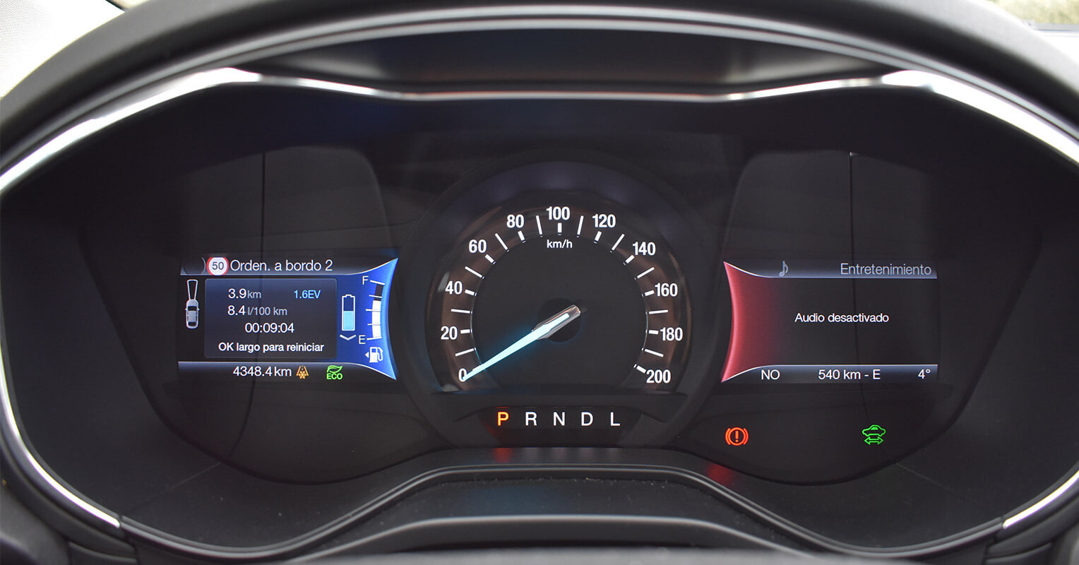 Instrumentación del Ford Mondeo híbrido