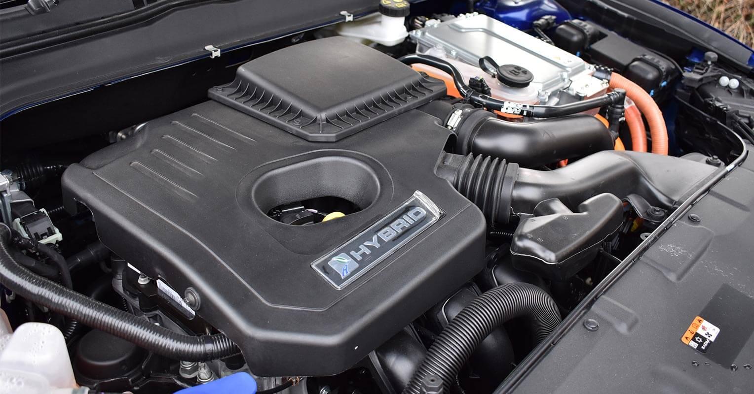 Motor del Ford Mondeo híbrido