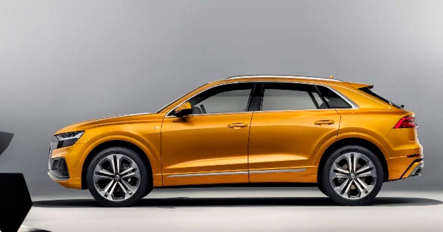 Audi Q8 2019 lateral