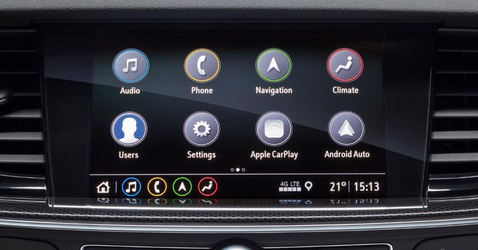 Sistema de infoentretenimiento del Opel Insignia Grand Sport 2019